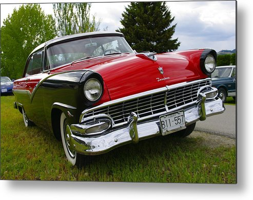 Ford Metal Print featuring the photograph Ford Fairlane by John Greaves