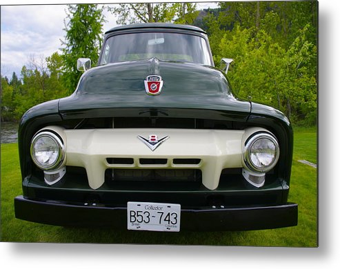 Ford Metal Print featuring the photograph Ford V8 by John Greaves