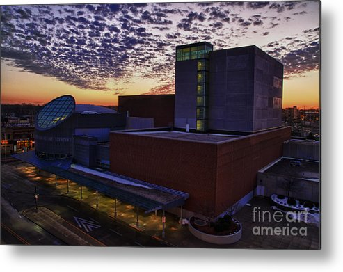Pac Metal Print featuring the photograph Fox Cities Performing Arts Center by Joel Witmeyer