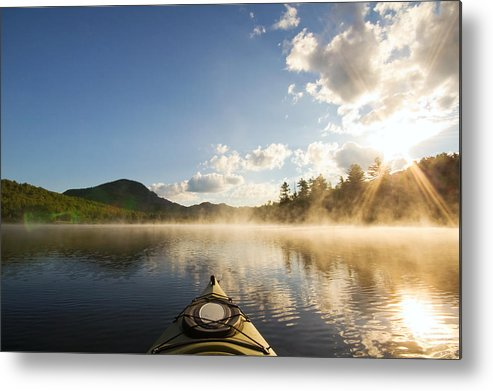 Kayak Metal Print featuring the photograph Free To Be by Stephanie McDowell