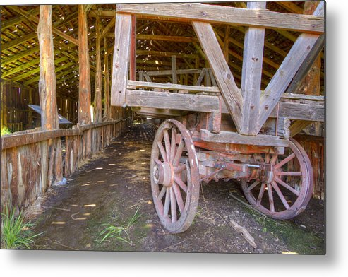 Barn Metal Print featuring the photograph French Glen Barn by Jean Noren