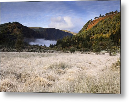Glendalough Metal Print featuring the photograph Glendalough County Wicklow by Dave McManus