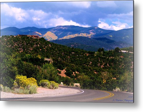 Quaking Aspen Metal Print featuring the photograph Gold In Them Hills by Aaron Burrows