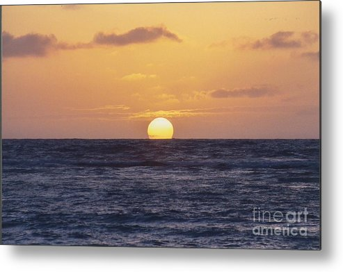 Sunset Metal Print featuring the photograph Gone by Bruce Borthwick