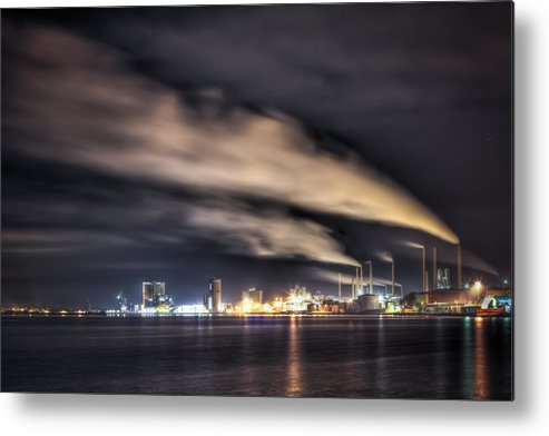 Industrial Metal Print featuring the photograph Gone With The Wind by Rafael Zajac