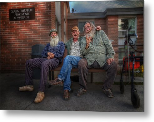 Acrylic Prints Metal Print featuring the photograph Gossips And Rumour Mongers by John Herzog