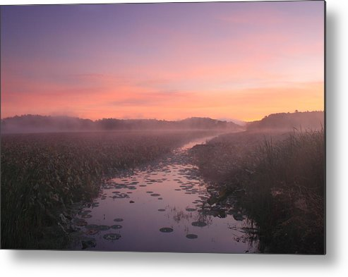Concord Metal Print featuring the photograph Great Meadows National Wildlife Refuge Dawn by John Burk