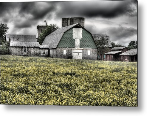 Grey Scale Metal Print featuring the photograph Grey Scale by JC Findley