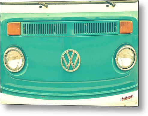 Vw Metal Print featuring the photograph Groovy by Robin Dickinson