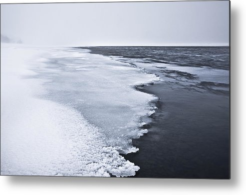 Ice Metal Print featuring the photograph Ice Water by Hordur Finnbogason
