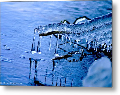Ice Metal Print featuring the photograph Icy Reflections by Mitch Shindelbower