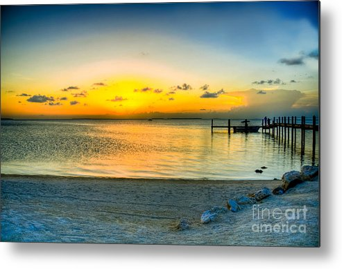 Islamorado Keys Metal Print featuring the photograph Islamorado Keys Florida by Kelly Wade