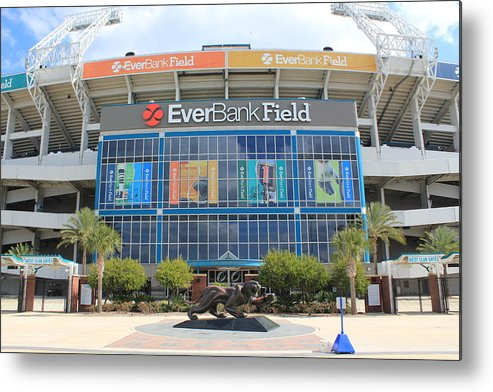 Jacksonville Metal Print featuring the photograph Jacksonville Jaguars Stadium by Rod Andress