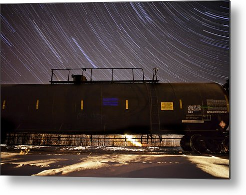 Stars Metal Print featuring the photograph Last Stop by Jesse Pickett