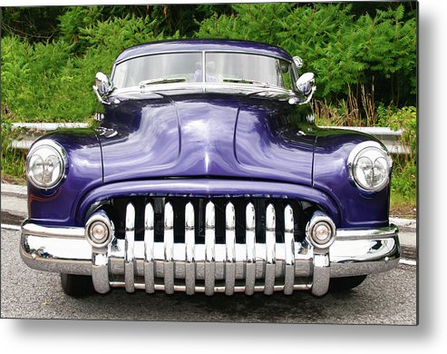 Automobile Metal Print featuring the photograph Lead Sled  7768a by Guy Whiteley