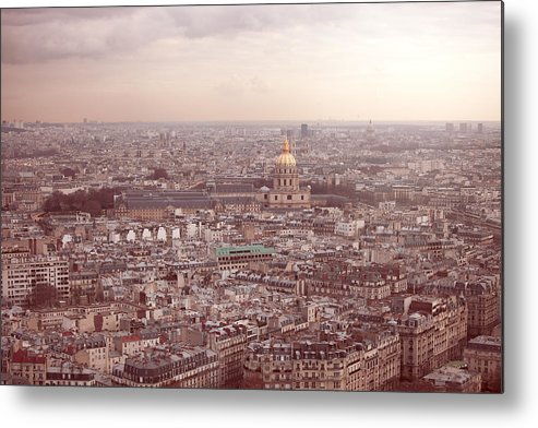Horizontal Metal Print featuring the photograph Les Invalides by Nico De Pasquale Photography