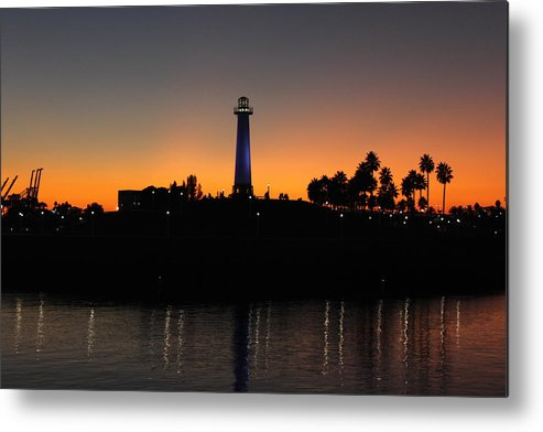 Lighthouse Metal Print featuring the photograph Lighthouse by Caroline Lomeli