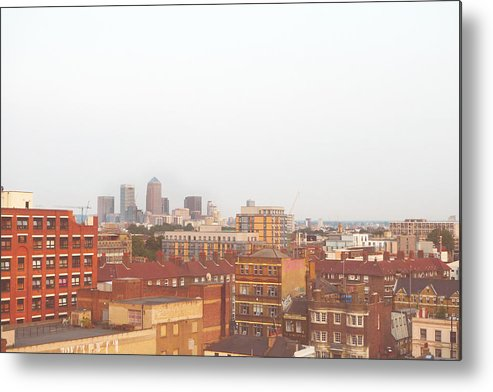 Horizontal Metal Print featuring the photograph London by Le Chateau Ludic