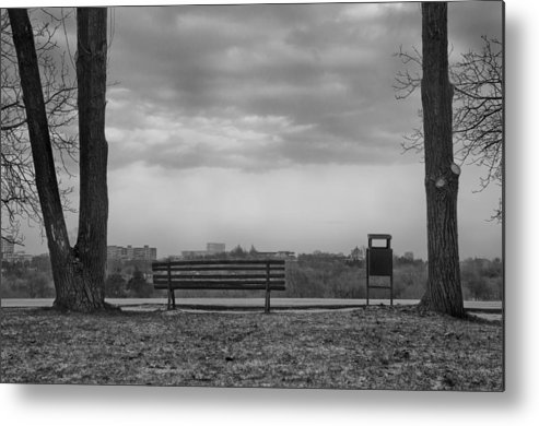 Lonelyness Metal Print featuring the photograph Lonelyness by Catalin Scarlat