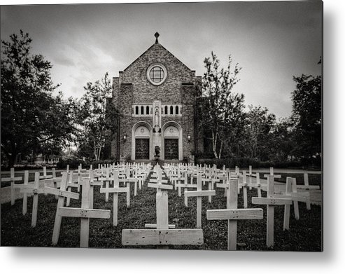 Scary Metal Print featuring the photograph Lord Knows by Pixel Perfect by Michael Moore