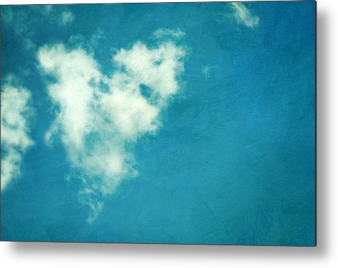 Horizontal Metal Print featuring the photograph Love Is In The Air by Kelly Sillaste