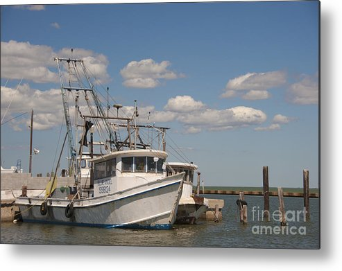 Gulf Of Mexico Metal Print featuring the photograph Marina Rockport Texas by Andre Babiak