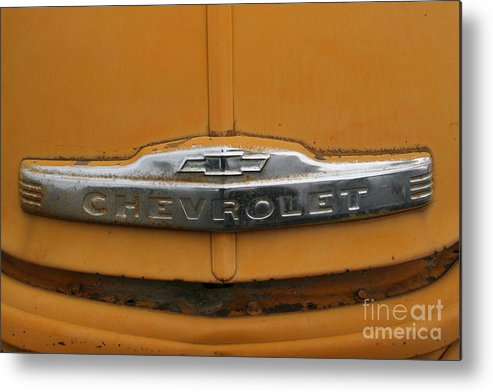 Metal Print featuring the photograph Merv's Chevy by Ken Riddle