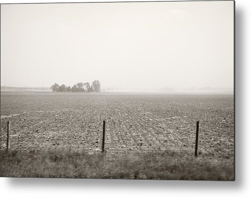Landscape Metal Print featuring the photograph Nebraska Morning by Marilyn Hunt