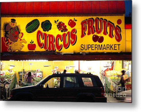 Bklyn Metal Print featuring the photograph Night At The Supermarket by Mark Gilman