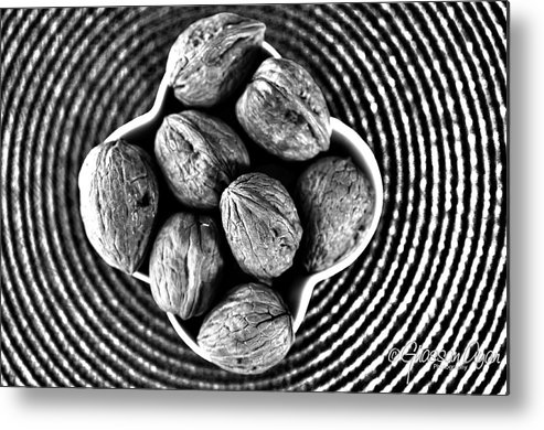 Nuts Metal Print featuring the photograph Nuts by Ghassan Ayan
