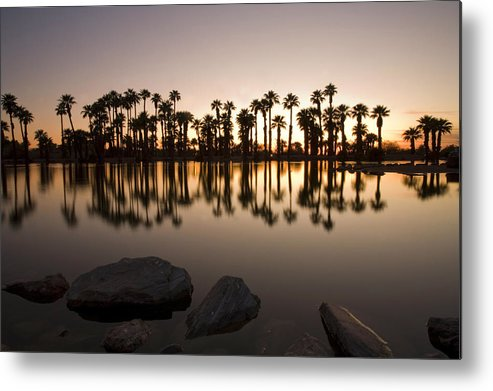 Horizontal Metal Print featuring the photograph Oasis by Photographed by Randi Ang