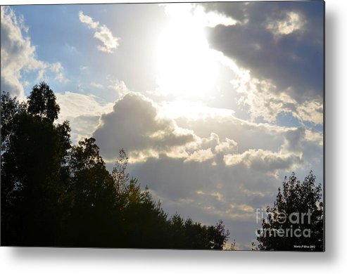 October's Radiance 2012 Metal Print featuring the photograph October's Radiance 2012 by Maria Urso