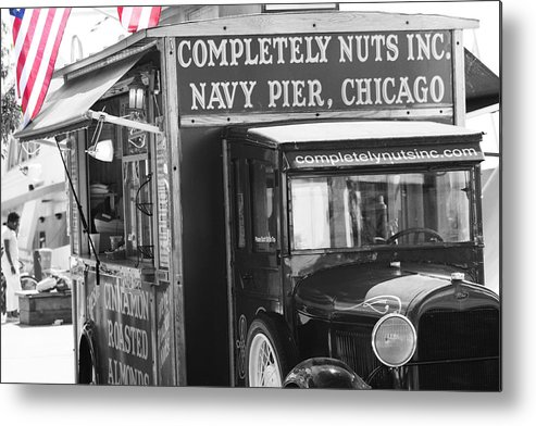 Chicago Metal Print featuring the photograph Oh Nuts by Toma Caul