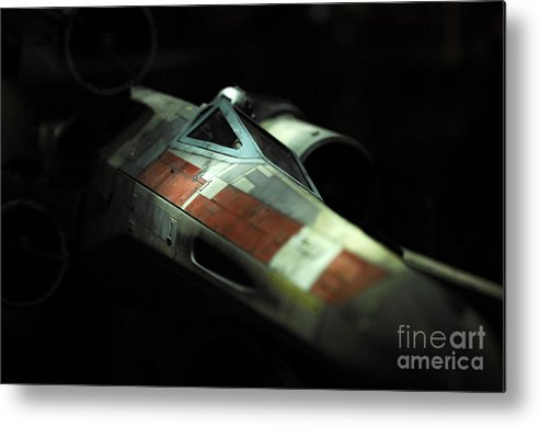 X-wing Metal Print featuring the photograph Original X-wing by Micah May