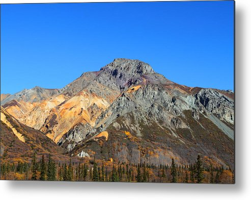 Doug Lloyd Metal Print featuring the photograph Painted Mountains by Doug Lloyd