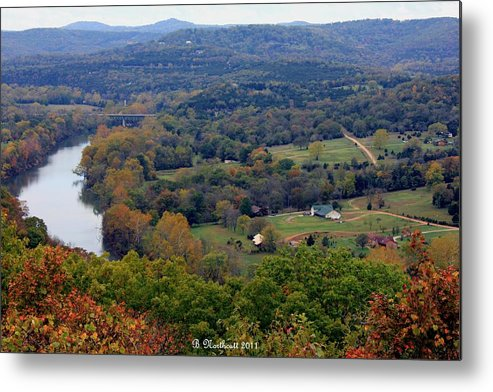 Valley Metal Print featuring the photograph Peace In The Valley by Betty Northcutt