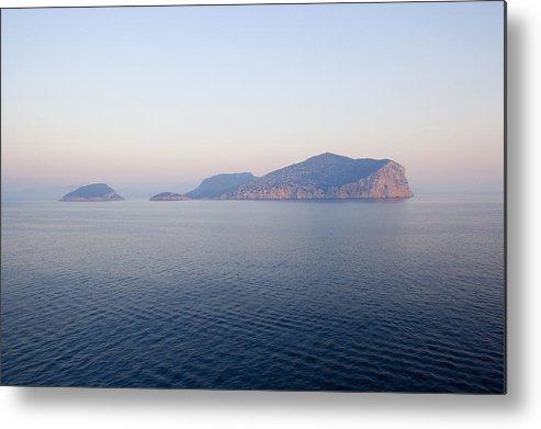 Horizontal Metal Print featuring the photograph Peaceful Waters In Golfo Aranci, Sardinia by Studio Box
