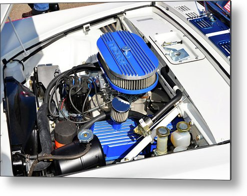 Sunbeam Tiger Metal Print featuring the photograph Powered By Ford by Paul Mashburn