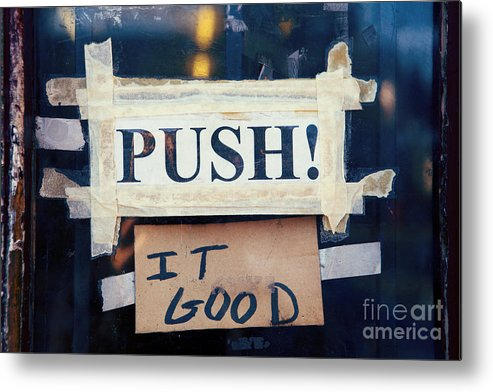 New Orleans Metal Print featuring the photograph Push It Good by Kim Fearheiley