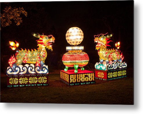 Art Metal Print featuring the photograph Qilin by Semmick Photo