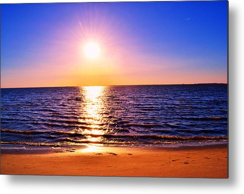 Sunray Metal Print featuring the photograph Rays Of Light by Kelly Reber