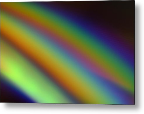 Rainbow Metal Print featuring the photograph Reflected Refraction by Charles Garrett