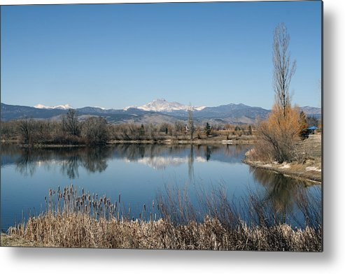 Metal Print featuring the photograph Reflections by Leah Green