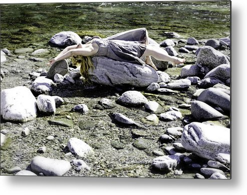 Young Metal Print featuring the photograph Relax by Joana Kruse