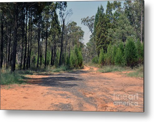Road Metal Print featuring the photograph Road To Nowhere by Joanne Kocwin