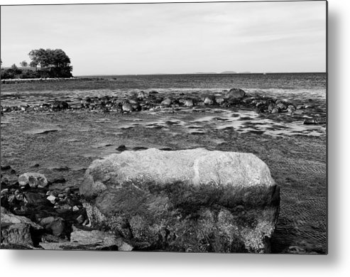Maine Metal Print featuring the photograph Rockland Harbor by Derek Burke