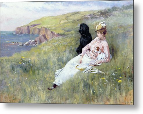 Sea Dreams Metal Print featuring the painting Sea Dreams by Charles Trevor Garland