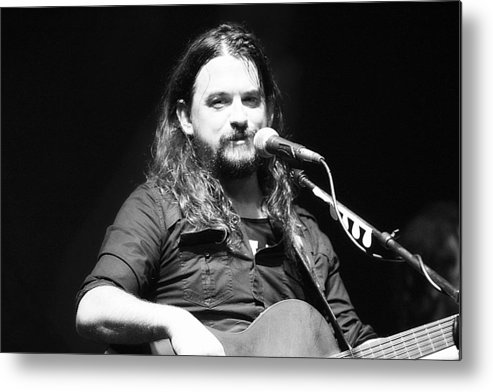 Metal Print featuring the photograph Shooter Jennings - Spirit Of Country by Elizabeth Hart