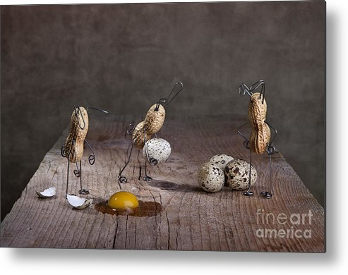 Easter Metal Print featuring the photograph Simple Things Easter 06 by Nailia Schwarz