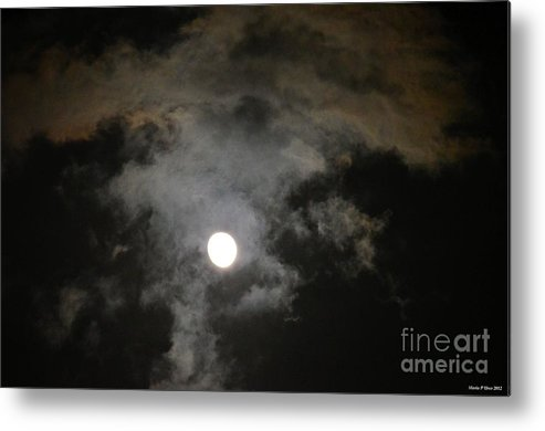 Sinister Skies Metal Print featuring the photograph Sinister Skies by Maria Urso